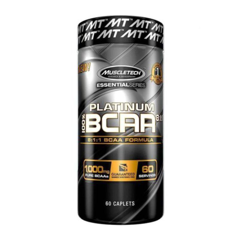 100% BCAA Platinum 8:1:1 (Cápsulas) Muscleteck