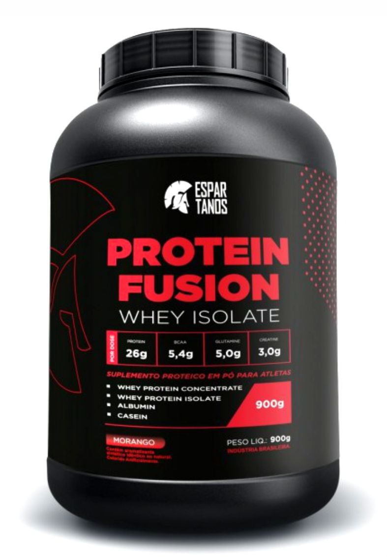 Protein Fusion Whey Isolate 900G Espartanos