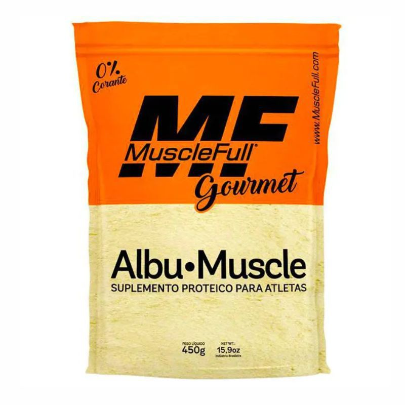 AlbuMuscle albumina (450G) Muscle Full
