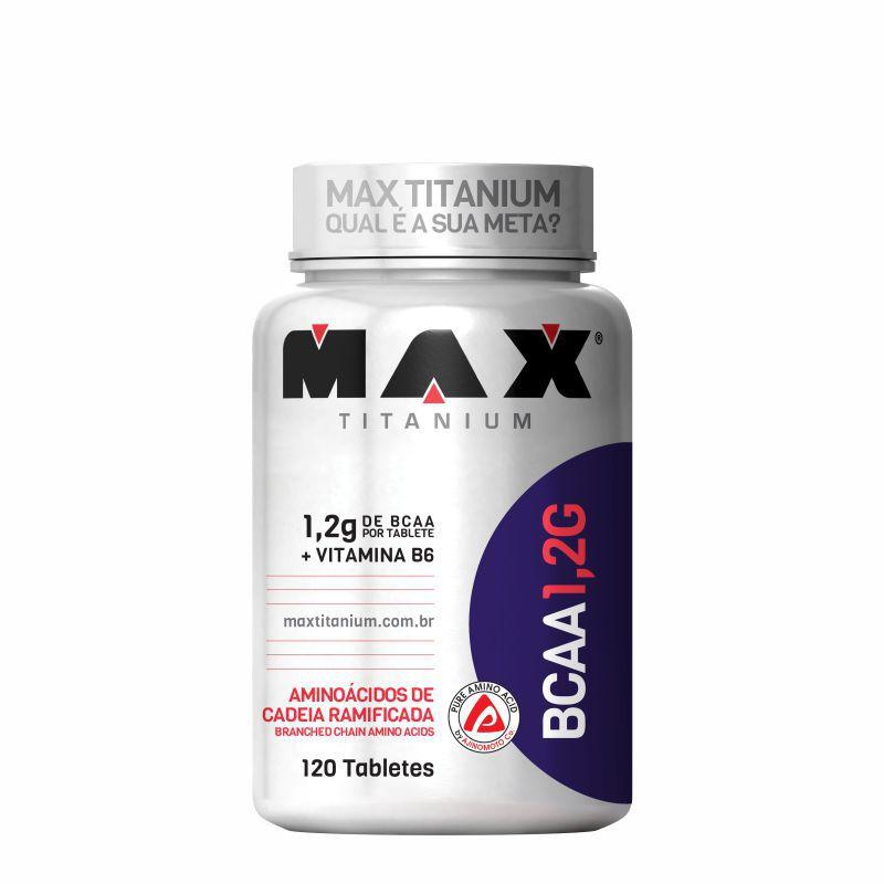 BCAA 1,2G  (120) Tabletes Max Titanium