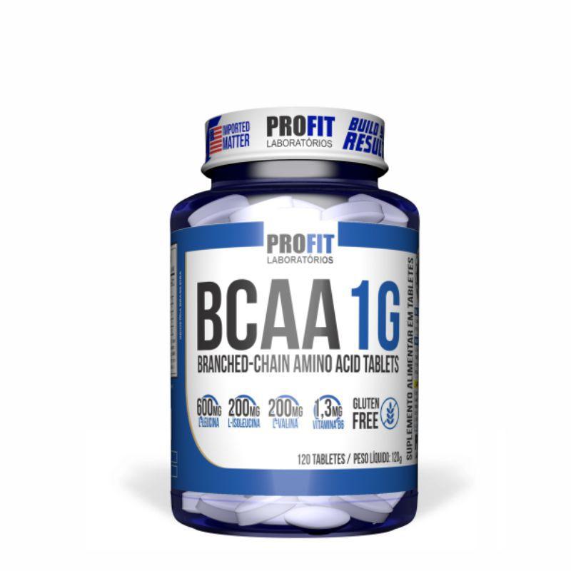 Bcaa 1G (60 Tabletes) ProFit Labs