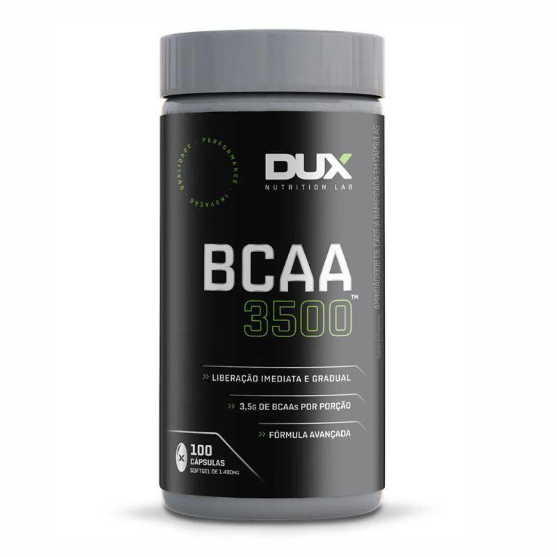 BCAA 3500 (100 Cápsulas) Dux Nutrition