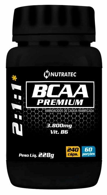 BCAA PREMIUM 3800MG -240 CÁPSULAS