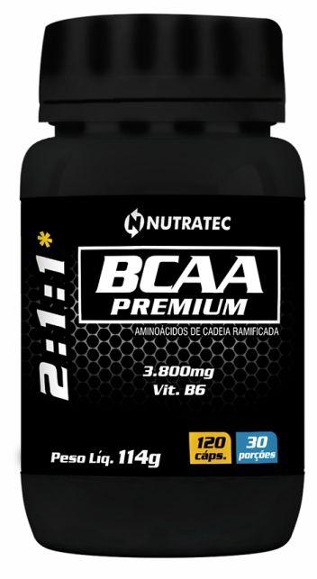 BCAA PREMIUM 3.800MG – 120 CÁPSULAS
