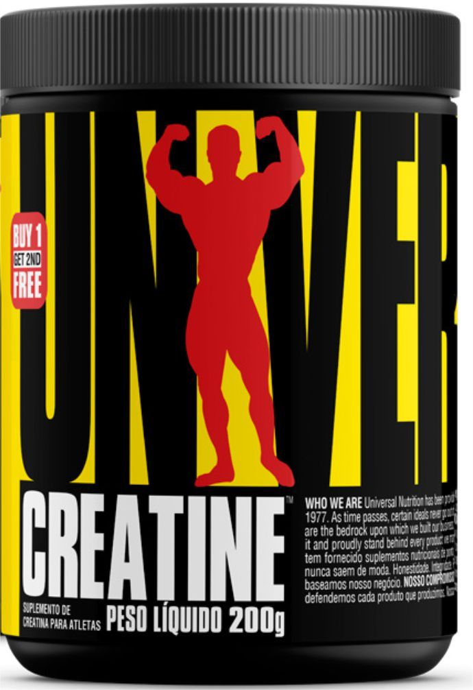 CREATINA POWDER UNIVERSAL 200G