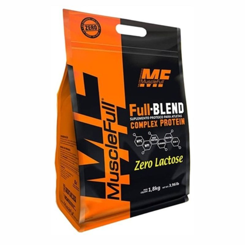 Full Blend  Refil (1,8Kg) Zero Lactose Muscle Full