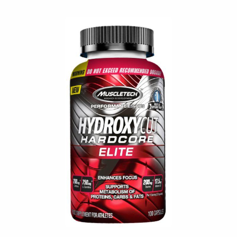 Hydroxycut HardCore Elite (100 Cápsulas) Muscleteck