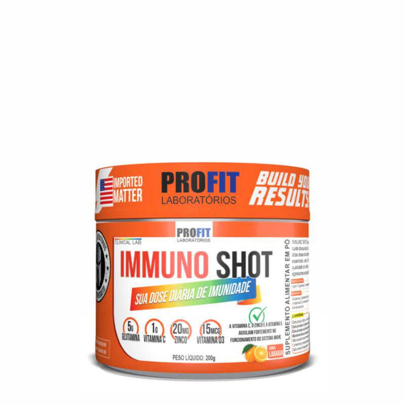 Immuno Shot (200g) Fortalecimento Imunológico Profit Labs