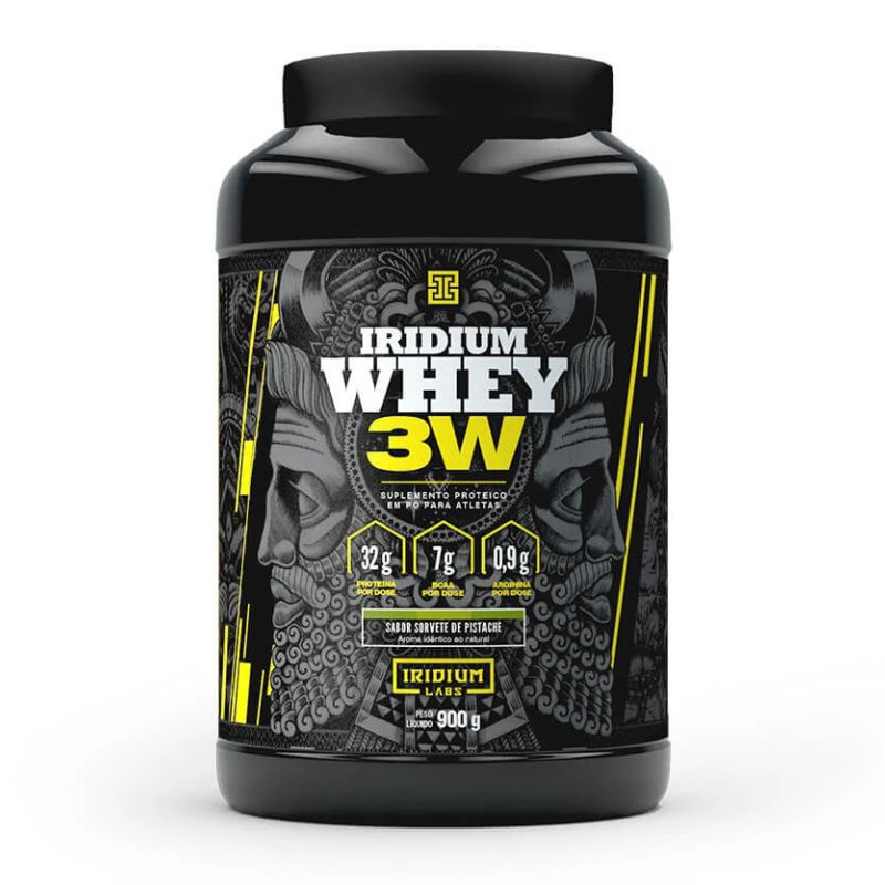 Iridium Whey 3W  (900G) Iridium Labs