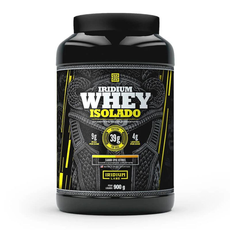 Iridium Whey Isolado (900G) Iridium Labs
