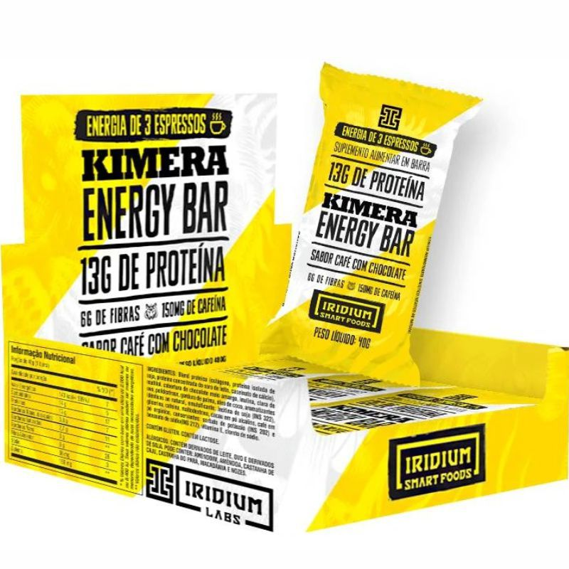 Kimera Energy Bar (40g) Iridium Labs