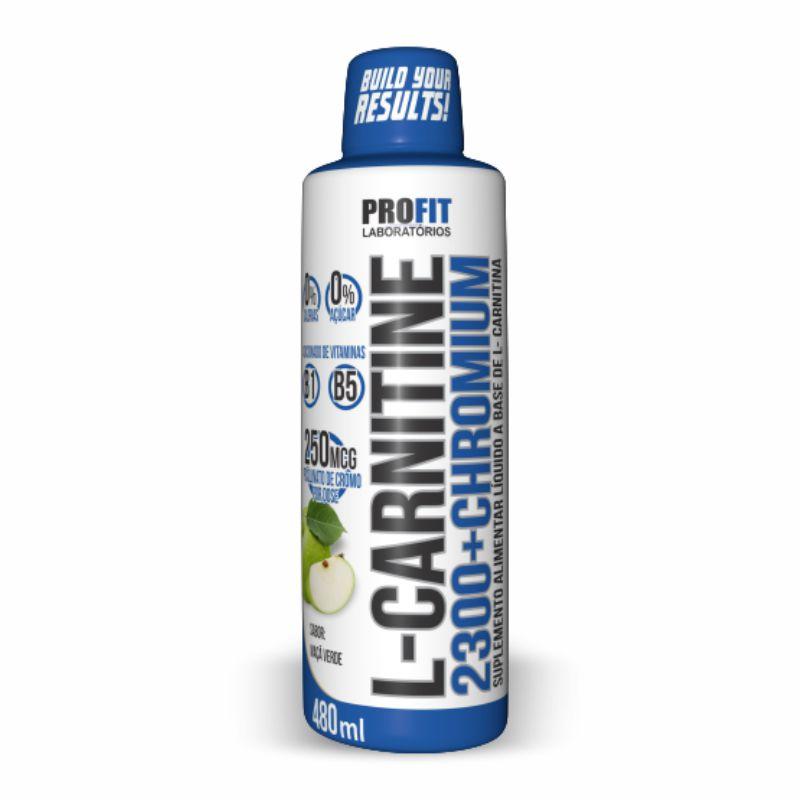 L-Carnitina 2300 + Chromium (480ML) Profit Labs