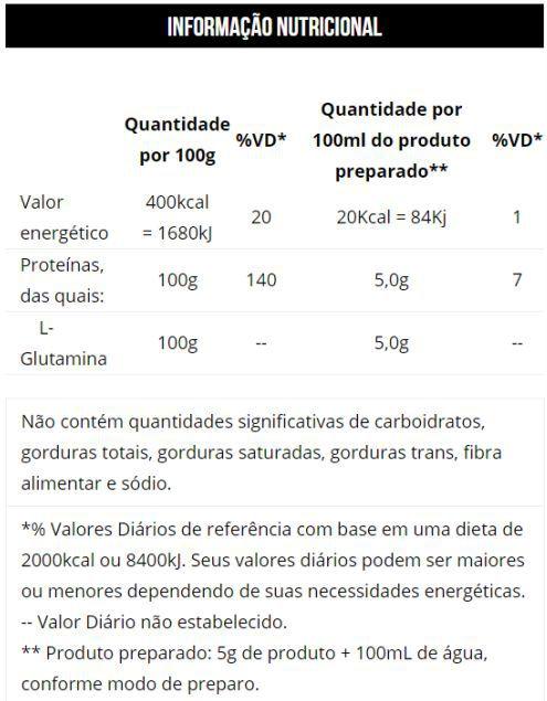 L-Glutamina (600g) Conteúdo Líquido Max Titanium