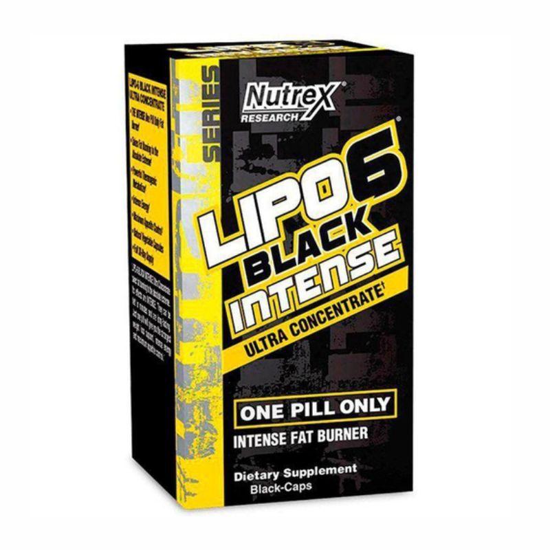 Lipo 6 Black Intense Ultra Concentrado (60 Cápsulas) Nutrex Research