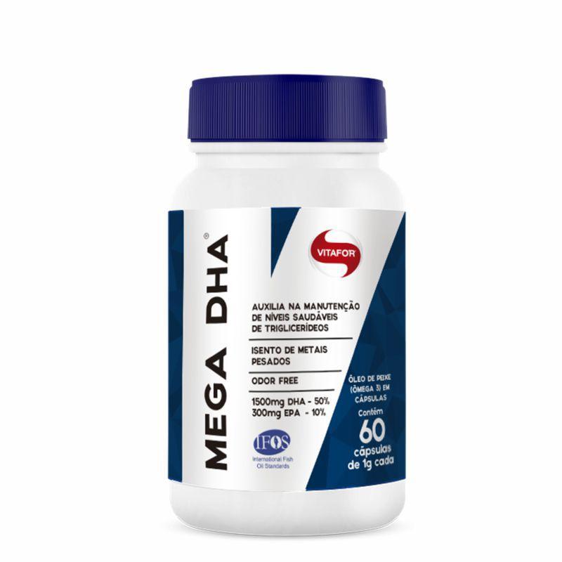 Mega DHA 1.500mg (Cápsulas) Vitafor