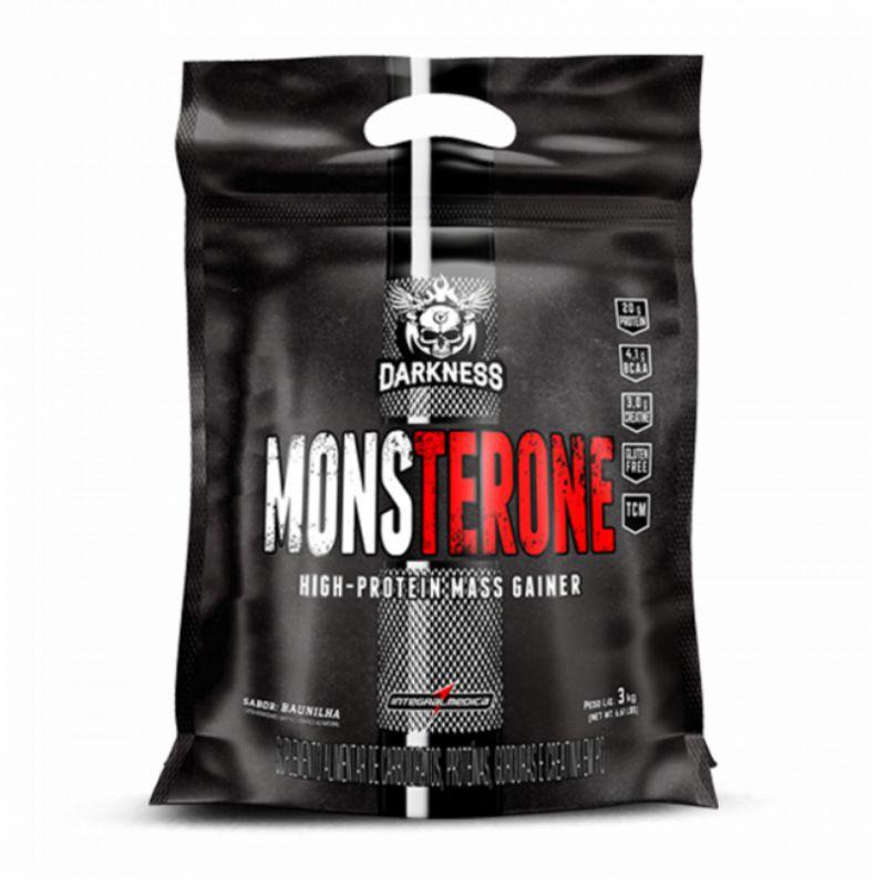 Monsterone Massa Hipercalórica (3,0kg) Darkness