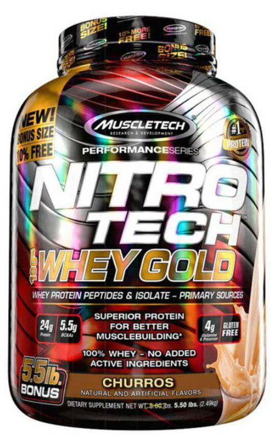 Nitro Tech Whey Protein Gold 2,50Kg