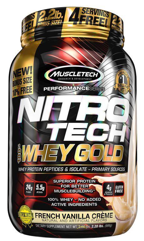 NITROTECH 100% WHEY GOLD - 999G