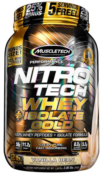 NITROTECH 100% WHEY GOLD ISOLATE