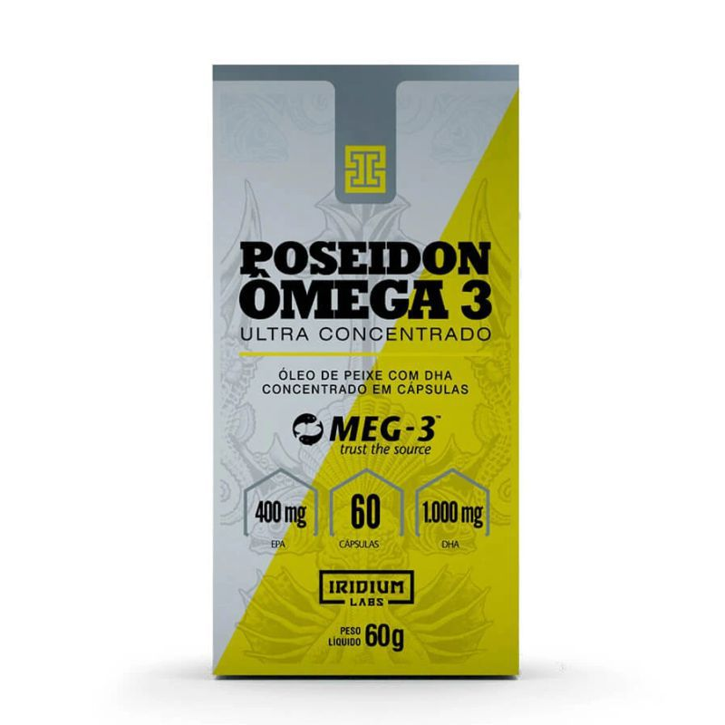 Poseidon Omega 3 Ultra Concentrado (60 caps) Iridium Labs