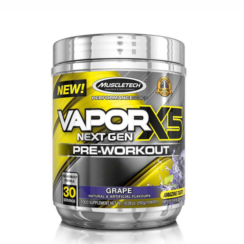 Pré-treino VaporX5™ (292G) Muscleteck