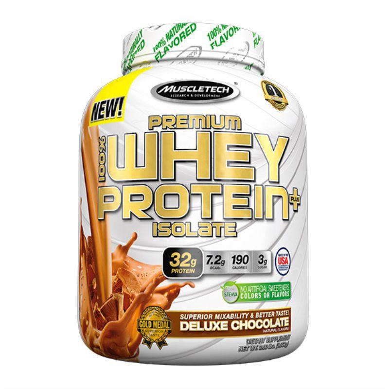 Premium 100% Whey Protein Plus Isolate (1,36 kg)  Muscleteck