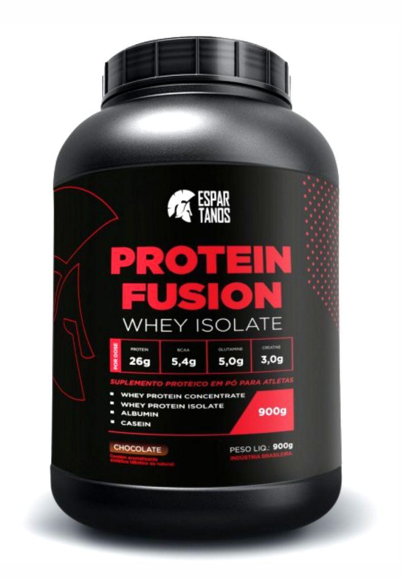 Protein Fusion Whey Isolate 900G Espartanos