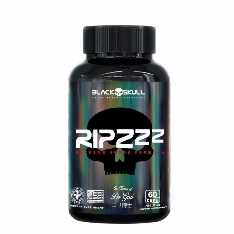 Ripzzz®  Triptofano (60 Caps) Black Skull USA™