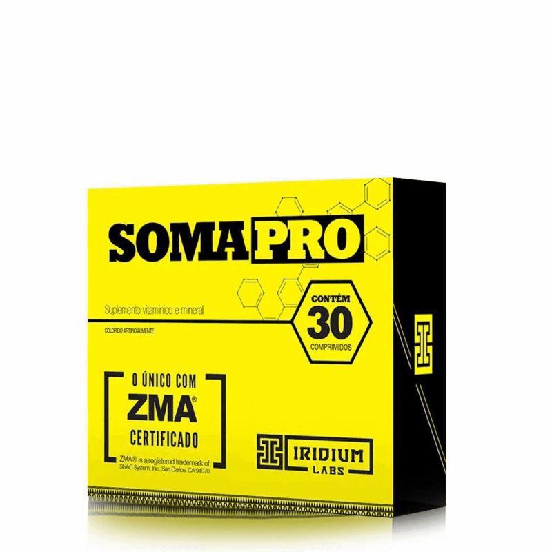 Soma Pro ZMA Pré Hormonal (60 comps) Iridium Labs