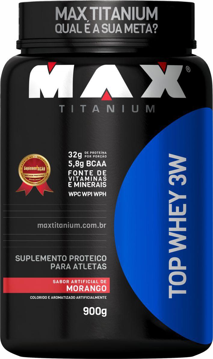TOP WHEY 3W (900G) MAX TITANIUM