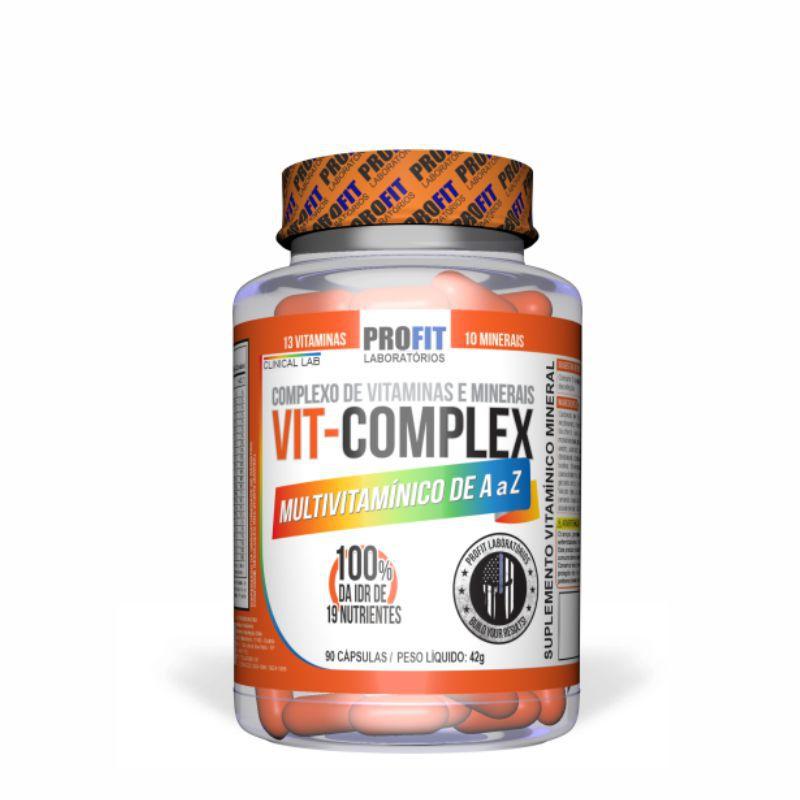 VIT-Complex Multivitamínico (90 Cápsulas)