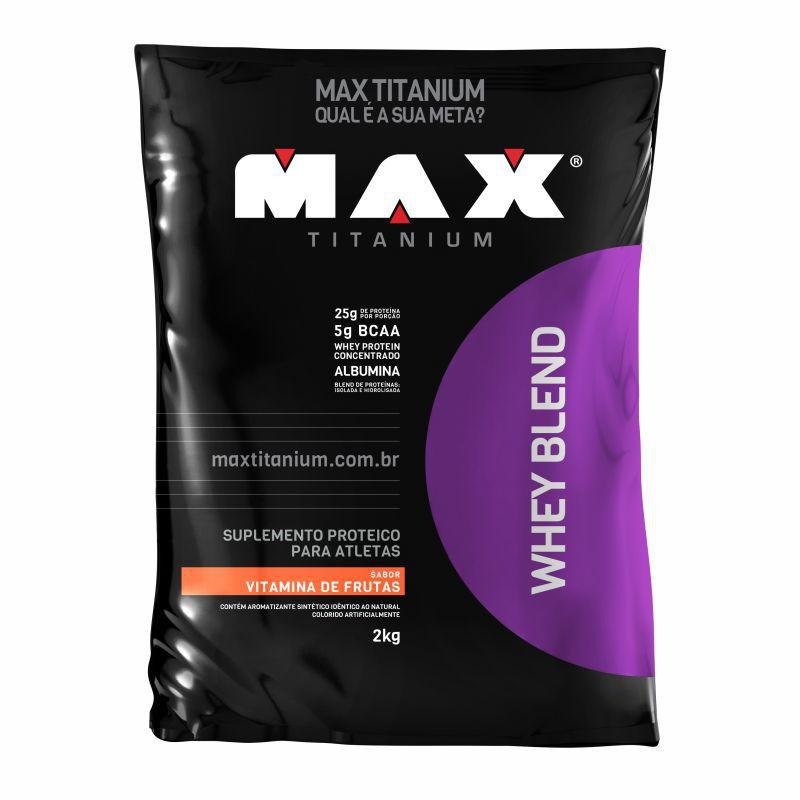 Whey Blend  Refil (2kg) Max Titanium