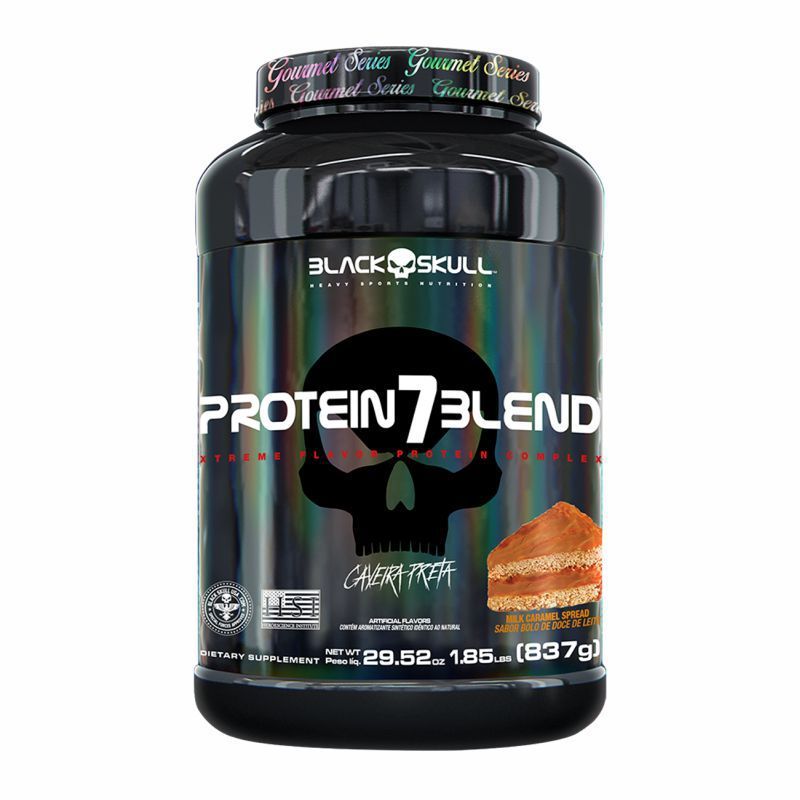 Whey Protein 7 Blend® (900G) Black Skull USA™