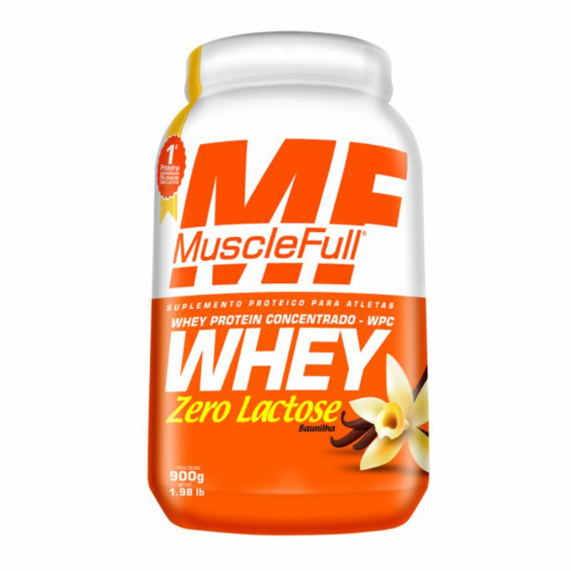 Whey Protein Zero Lactose (900G) Muscle Full