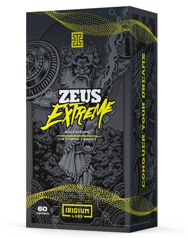 Zeus Extreme 60 Cápsulas Iridium Labs