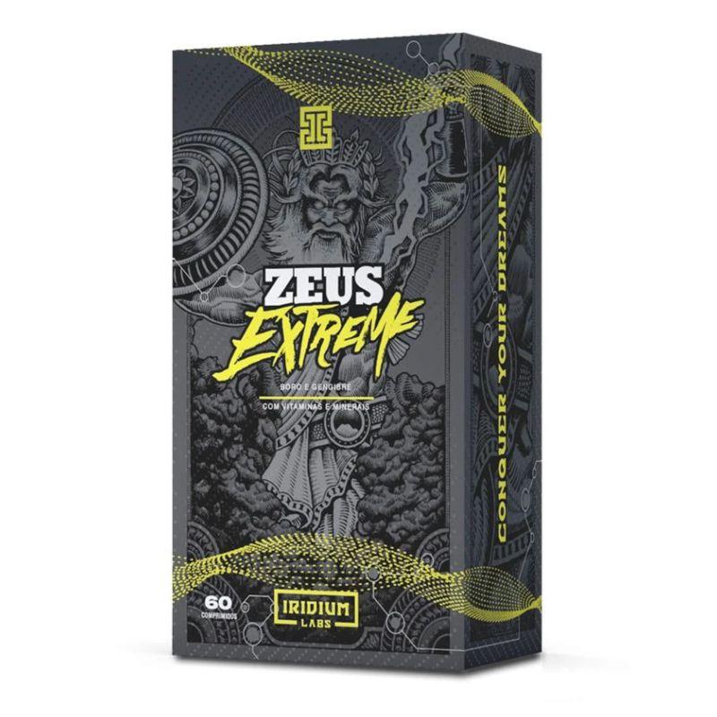 Zeus Extreme Pré Hormonal (60 comps) Iridium Labs