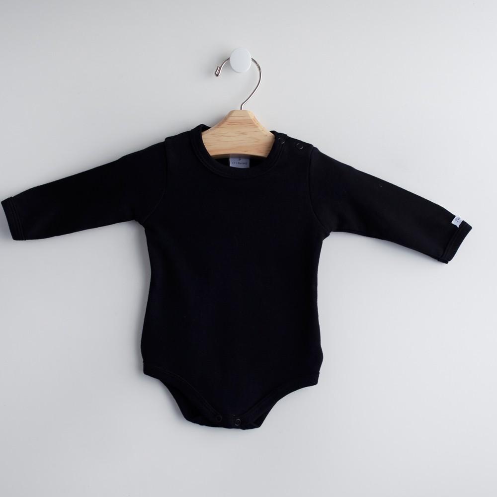 Body Comprido Preto - Linha NUPIE