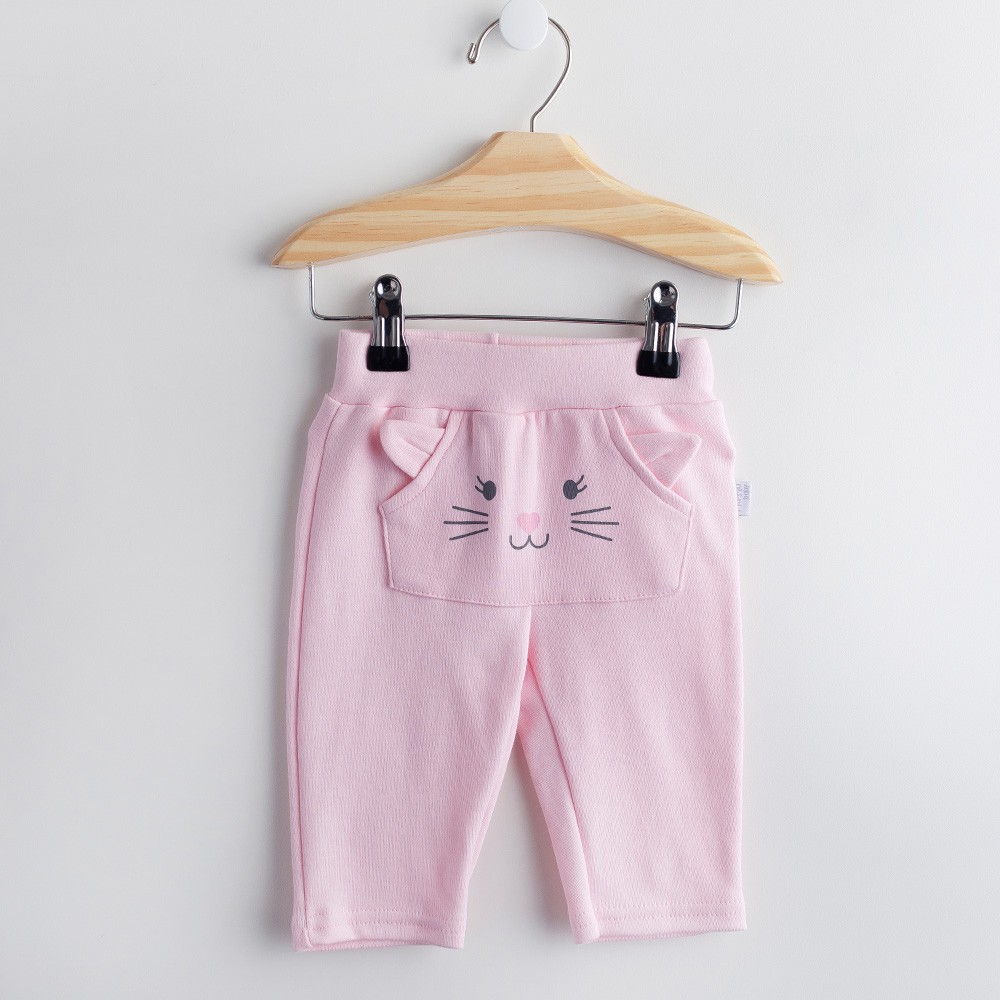 Calça Bolso Canguru Rosa