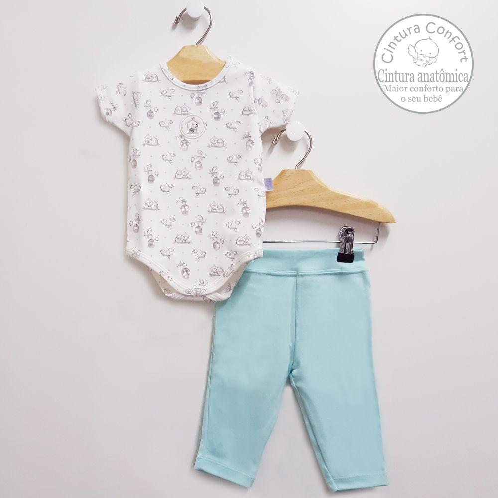 Conjunto Body e Calça (algodão egípcio)