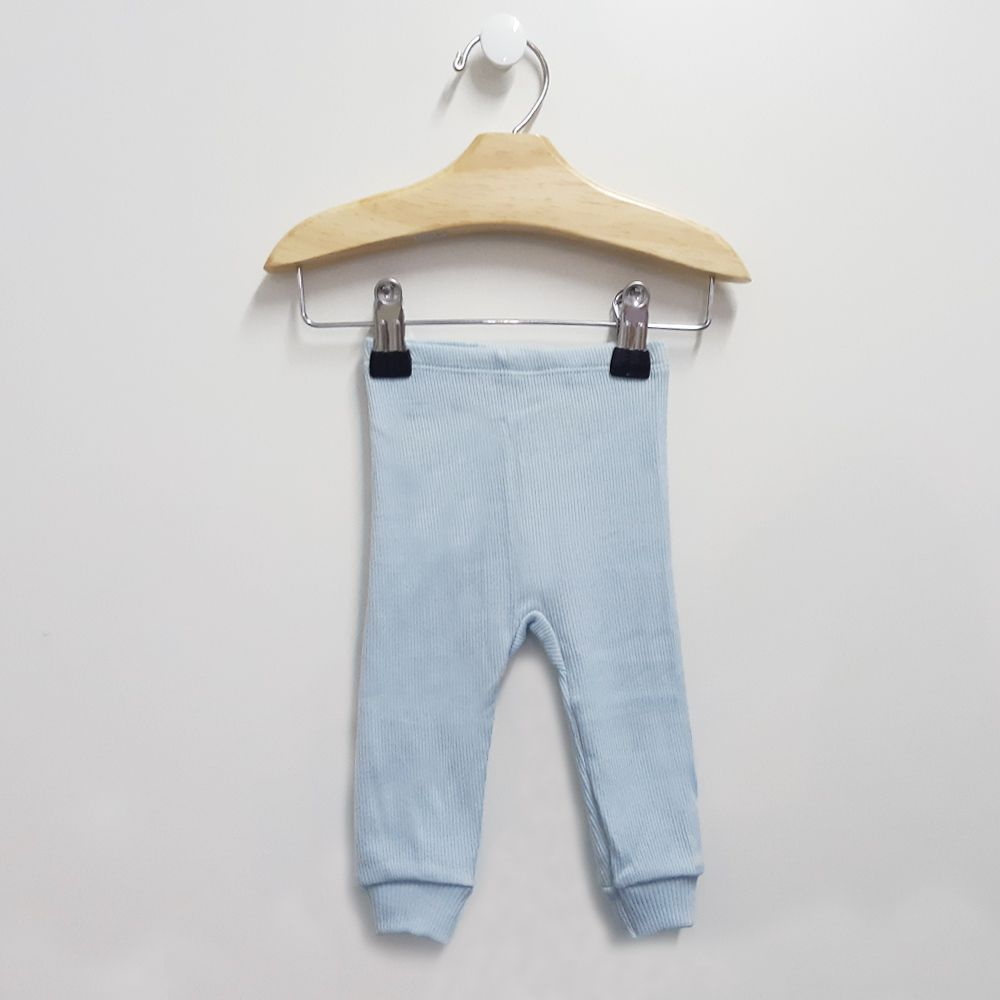 Kit 2 Culotes Azul Bebê (sem pé)