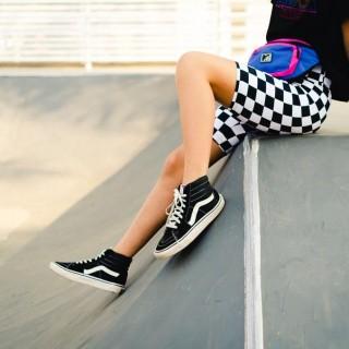 Bermuda Ciclista Adulto Cintura Alta Estampada Skate