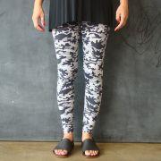 Calça Legging Adulto Básica Estampada Camuflada