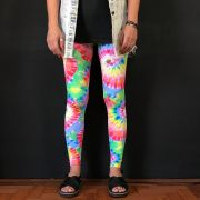 Calça Legging Adulto Básica Estampada Tie Dye
