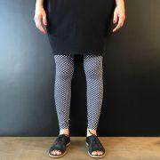 Calça Legging Adulto Básica Estampada Xadrez