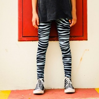 Calça Legging Adulto Básica Estampada Zebra