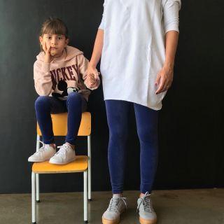 Calça Legging Adulto Básica Veludo Azul