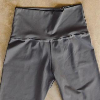 Calça Legging Adulto Cintura Alta Emana Chumbo