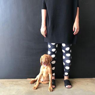 Calça Legging Adulto Cintura Alta Estampada Bola