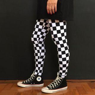 Calça Legging Adulto Cintura Alta Estampada Skate