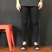 Calça Legging Adulto Cintura Alta Preta Emana